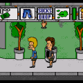 MTV's Beavis and Butt-head (Sega Mega Drive) скриншот-3