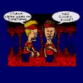 MTV's Beavis and Butt-head (Sega Mega Drive) скриншот-5