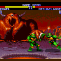 Teenage Mutant Hero Turtles: Tournament Fighters для Sega Mega Drive