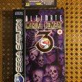 Ultimate Mortal Kombat 3 (Sega Saturn) (PAL) (б/у) фото-1