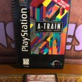 A-Train: Trains - Power - Money - Long Box (PS1) (NTSC-U) (б/у) фото-1