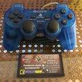 Gamepad DualShock (Clear Blue) (used) (Sony PlayStation 1) фото-1