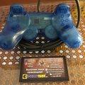 Gamepad DualShock (Clear Blue) (used) (Sony PlayStation 1) фото-2