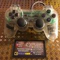 Gamepad DualShock (Crystal) (used) (Sony PlayStation 1) фото-1