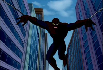 Doppleganger - Living Alien Spider-Trap   Spider-Man: The Animated Series 1994 изображение-1