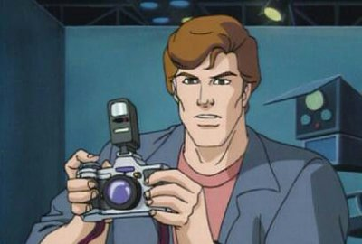 Peter Parker with Camera Accessory / Spider-Man: The Animated Series - изображение-1