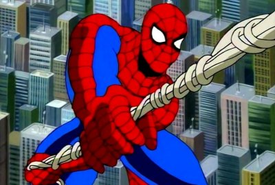 Sky Scraper Stunt Set - Skyline Web-Runner   Spider-Man: The Animated Series 1994 изображение-1