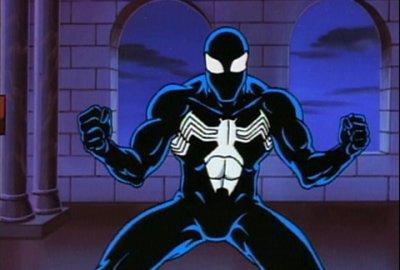 Spider-Man Black Costume | The Animated Series 1994 изображение-1