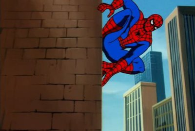 Spider-Man Web Parachute Action / Spider-Man: The Animated Series - изображение-1