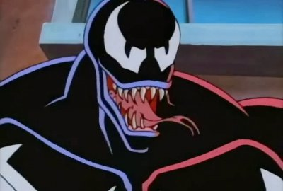 Venom - Jaw Chomping Action! | Spider-Man: The Animated Series 1994 изображение-1