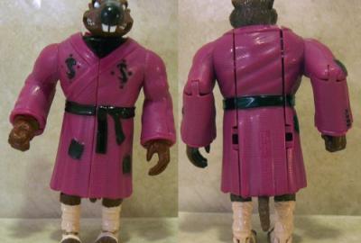 Mutatin' Splinter - The Remodeled Rodent Samurai Sage! | Teenage Mutant Ninja Turtles (Ninja Power) - Playmates Toys 1988 изображение-1