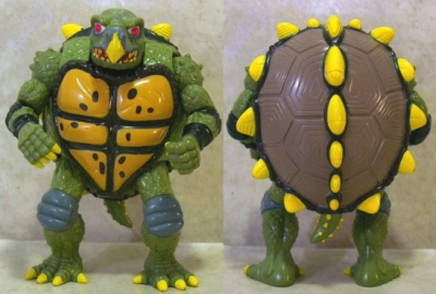Mutatin' Tokka - The Shape-shiftin' Snappin' Turtle | Teenage Mutant Ninja Turtles (Ninja Power) - Playmates Toys 1988 изображение-1