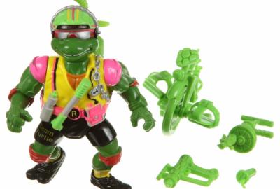 Sewer-Cyclin' Raph - The Beach Bikin' Battle Boy! | Teenage Mutant Ninja Turtles (Ninja Power) - Playmates Toys 1988 изображение-1