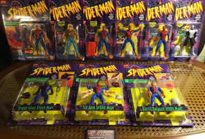 Серия фигурок Spider-Man: The Animated Series - Toy Biz 1994