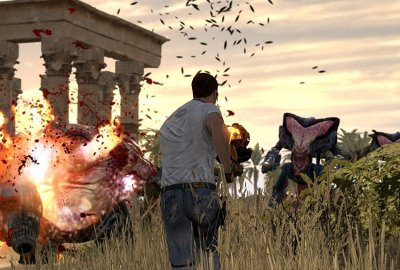 The Serious Sam Collection (XBOX 360) скриншот-1