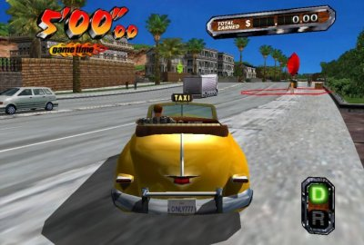 Crazy Taxi 3 (Microsoft XBOX) скриншот-1