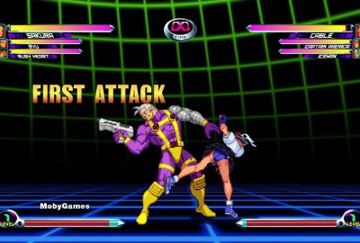 Marvel vs. Capcom 2 для Microsoft XBOX