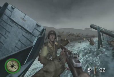 Medal of Honor Frontline (Microsoft XBOX) скриншот-1