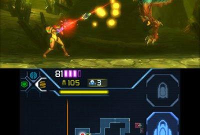 Metroid: Samus Returns (3DS) скриншот-1