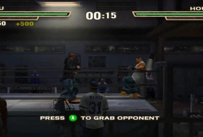 Def Jam: Fight for NY (GameCube) скриншот-1