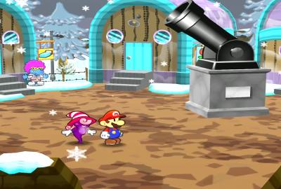 Paper Mario: The Thousand-Year Door (GameCube) скриншот-1