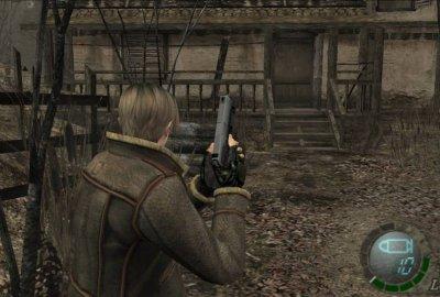 Resident Evil 4 (GameCube) скриншот-1