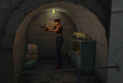 Resident Evil Code: Veronica X для Nintendo GameCube