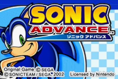 Sonic Advance (GBA) скриншот-1