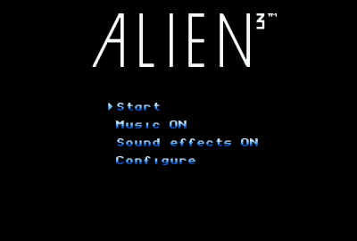 Alien 3 (NES) скриншот-1
