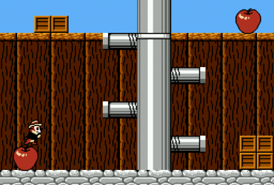 Disney's Chip 'n Dale: Rescue Rangers (NES) скриншот-1