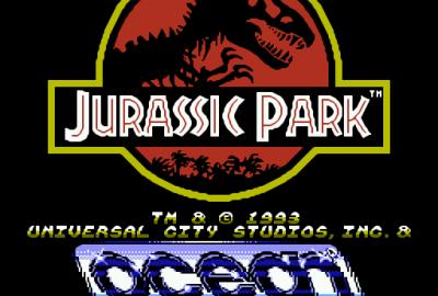 Jurassic Park (NES) скриншот-1