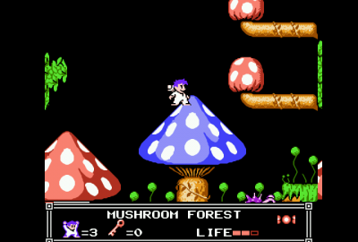 Little Nemo: The Dream Master (NES) скриншот-1