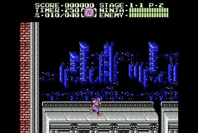 Ninja Gaiden II: The Dark Sword of Chaos (NES) скриншот-1