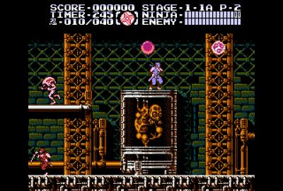 Ninja Gaiden III: The Ancient Ship of Doom (NES) скриншот-1