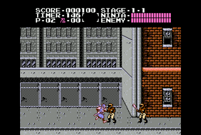 Ninja Gaiden (NES) скриншот-1