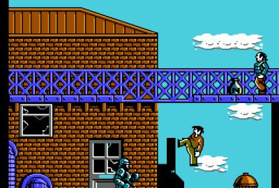 RoboCop 2 (NES) скриншот-1