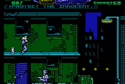 RoboCop 3 (NES) скриншот-1