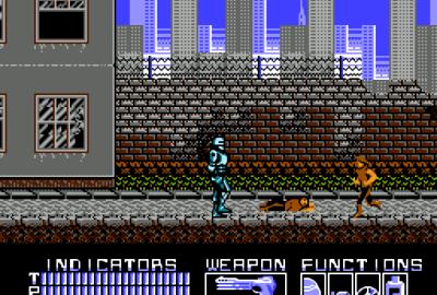 RoboCop (NES) скриншот-1