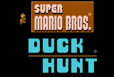 Super Mario Bros. / Duck Hunt (NES) скриншот-1
