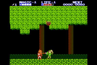 Zelda II: The Adventure of Link (NES) скриншот-1