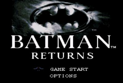 Batman Returns (SNES) скриншот-1