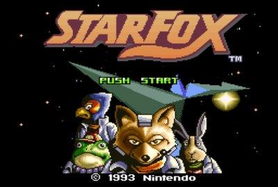 Star Fox (SNES) скриншот-1