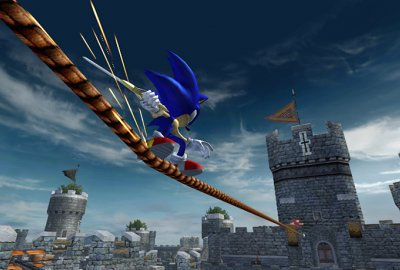 Sonic and the Black Knight (Wii) скриншот-1
