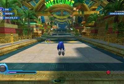 Sonic Colours для Nintendo Wii