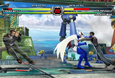 Tatsunoko vs. Capcom: Ultimate All-Stars (Wii) скриншот-1