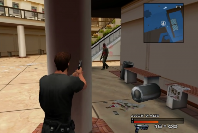 Headhunter (Sega Dreamcast) скриншот-1