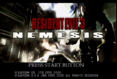 Resident Evil 3: Nemesis (Sega Dreamcast) скриншот-1