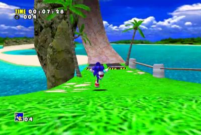 Sonic Adventure (Sega Dreamcast) скриншот-1