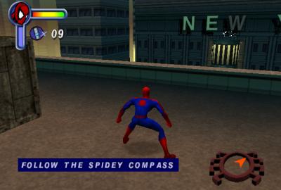 Spider-Man (Sega Dreamcast) скриншот-1