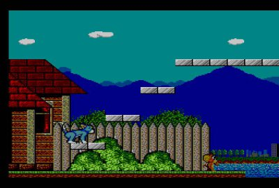 Tom and Jerry: The Movie для Sega Master System